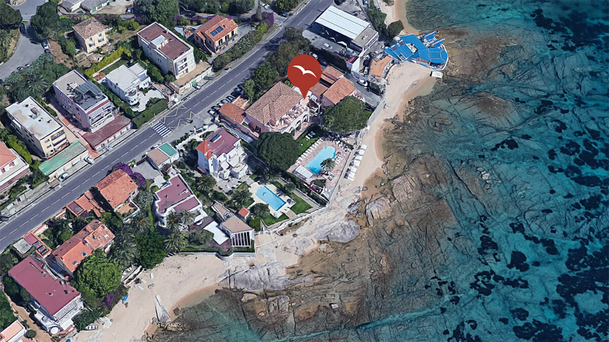 Hotel Mouettes Maps AJaccio